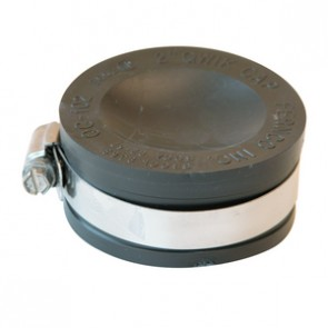 "2"" Fernco Flexible PVC Quick Cap (QC-102)"