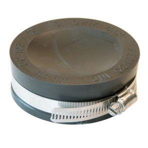 "3"" Fernco Flexible PVC Quick Cap (QC-103)"