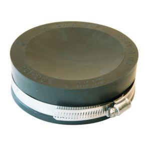 "4"" Fernco Flexible PVC Quick Cap (QC-104)"