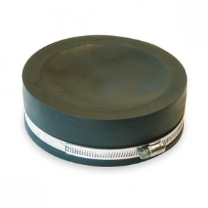 "6"" Fernco Flexible PVC Quick Cap (QC-106)"