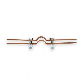"1"" Copper Coated Standard Riser Clamp (6400-0100PC)"