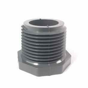 "4"" Schedule 80 PVC MPT Plug 850-040"