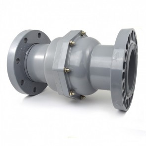 6 inch CPVC Swing Check Valve with Flanges