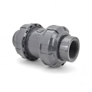 True Union Ball Check Valve - Threaded