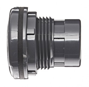 "3/8"" PVC Tank Adapter - Viton Soc 8170V-003"