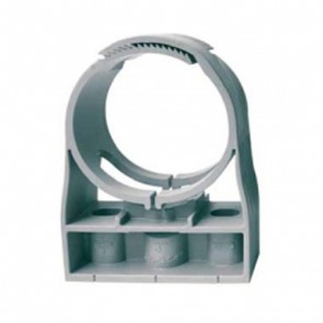 "2-1/2"" IPS CLIC® Light Gray Pipe Clamp"