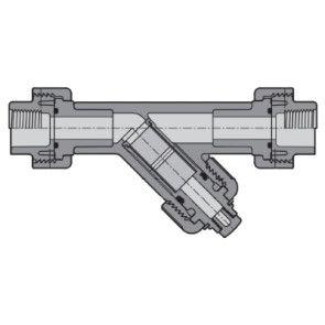 Clear PVC Industrial Y-Strainer