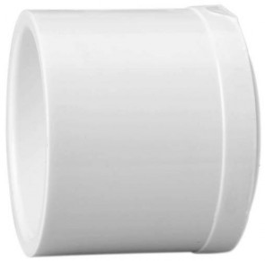 "1-1/4"" Schedule 40 PVC Plug - Spigot 449-012"