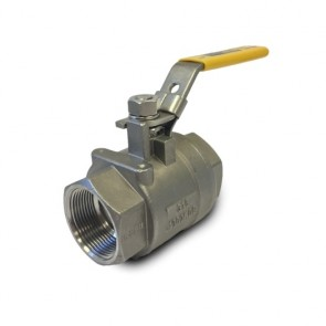 Flo-Tite 2-Piece Stainless Steel Ball Valve - Threaded