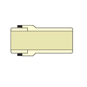 """TCA-005 1/2"""" CTS CPVC Transition Compression Adapter"""