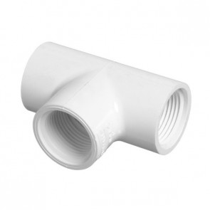"3/4"" Sch 40 PVC Tee Fipt 405-007"