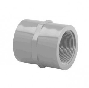 "1/4"" Schedule 80 (FPT x FPT) CPVC Coupling 9830-002"