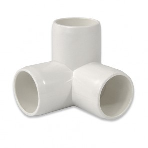"3/4"" 3 way PVC Fitting - Furniture Grade"