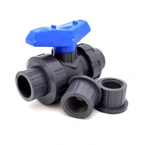 "3/4"" FluidPro Ball Valve - True Union, PVC"