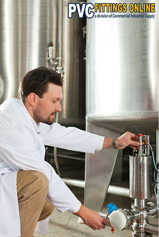 PVC Pipe and Fittings for Breweries