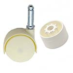 Caster Wheels & Adapters for PVC