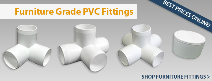 PVC Furniture Fittings