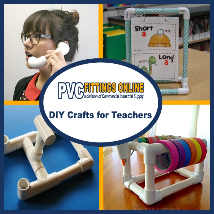 DIY Ideas for Teachers with PVC