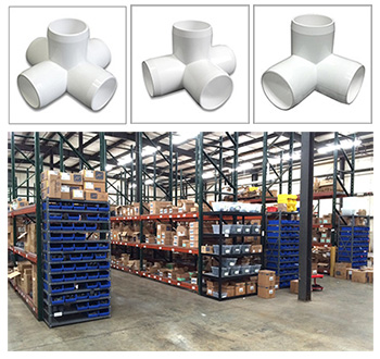 Buy Wholesale PVC Furniture Fittings